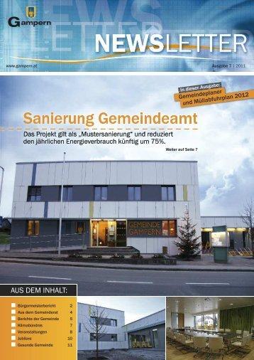 Sanierung Gemeindeamt Sanierung Gemeindeamt - auf der ...
