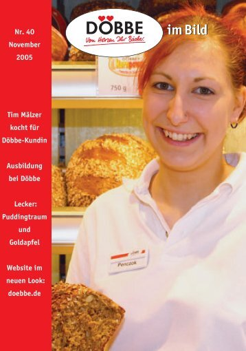 DÖB im Bild Nr. 40 PDF - Döbbe Bäckereien