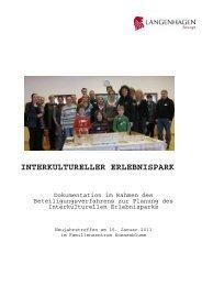 interkultureller erlebnispark