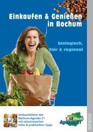 Einkaufen & Genießen in Bochum - Bochum Agenda 21