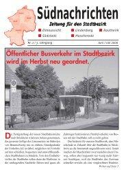 Südnachrichten - SPD-Braunschweig Süd-Ost Mascherode