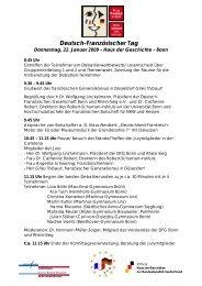Entwurf Ablauf 22 - Deutsch-Französische Gesellschaft Bonn und ...
