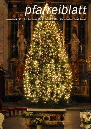Pfarreiblatt Nr. 19 2012 - Ruswil