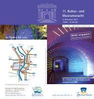 11. Kultur- und Museumsnacht - Germersheim