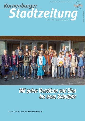 Stadtzeitung 3/2008 - Korneuburg