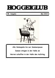 Ausgabe Mai 2010 - zum HC Schweinfurt