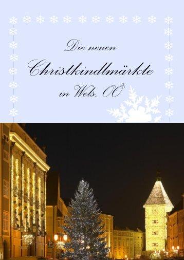 Welser Christkind GmbH - Stadtmarketing-Wels