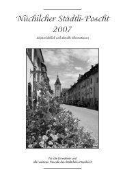 Glühmoscht - Gemeinde Neunkirch