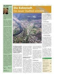 Die Bahnstadt. Ein neuer Stadtteil entsteht. - Stadt Heidelberg