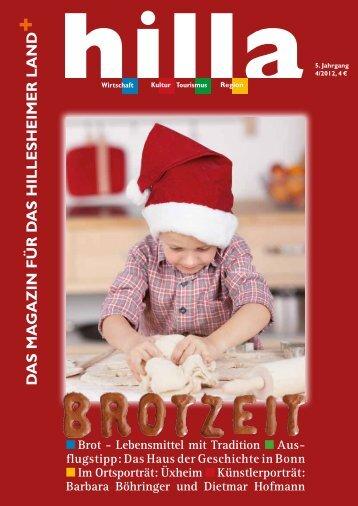 Hilla Magazin 04/2012