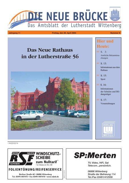 Und Heute Lutherstadt Wittenberg