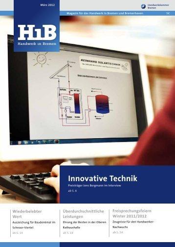 BUSINESS-INITIATIVE 2012 - Handwerkskammer Bremen