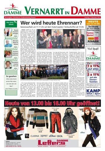 19. Ausgabe vom 11.11.2012 - Die Stadt Damme