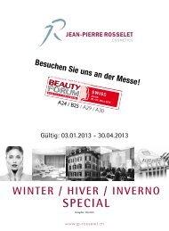 High Tech Event 2013 - Jean-Pierre Rosselet Cosmetics AG