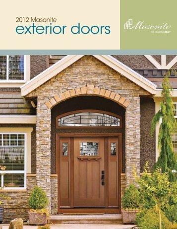 Exterior Doors Catalog Masonite