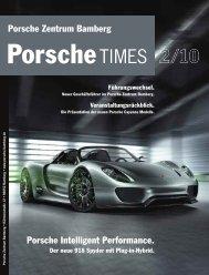 8. Mai 2010: Präsentation der neuen Cayenne Modelle. - Porsche
