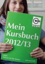 Kursbuch Download (21,8 MB) - WIFI Steiermark