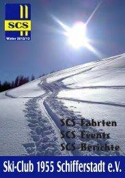neuen SCS - Heft - Ski-Club 1955 Schifferstadt eV