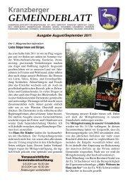 GEMEINDEBLATT - Verlag