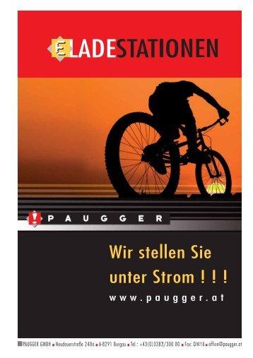 (Solar) Ladestation für E-Bikes/E-Cars vor? - Paugger