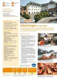 Altleiningen in der Pfalz - Jugendherberge