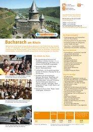 Bacharach am Rhein - Jugendherberge