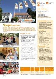 Speyer am Rhein - Jugendherberge
