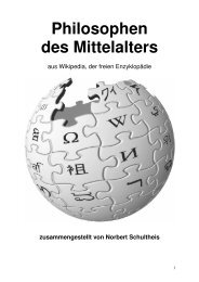 Leben - Norbert Schultheis