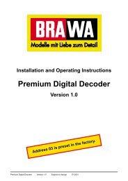 Premium Digital Decoder - Euro Rail Hobbies & More