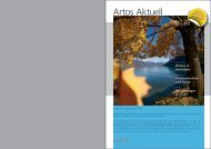 Artos-Aktuell Nr. 2-2012 (pdf) - Zentrum · Artos Interlaken