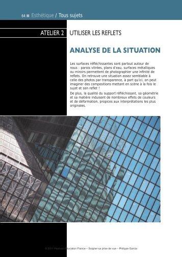 analyse de la situation - Pearson