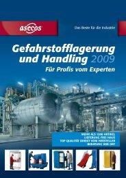 Gefahrstofflagerung und Handling 2009