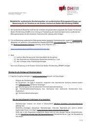Merkblatt für ausländische Studienbewerber mit ausländischen ...