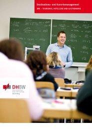 Destinations- und Kurortemanagement - DHBW Ravensburg