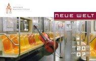MINI-ABO 3 Ausgaben gratis! - Dresdner Musikfestspiele