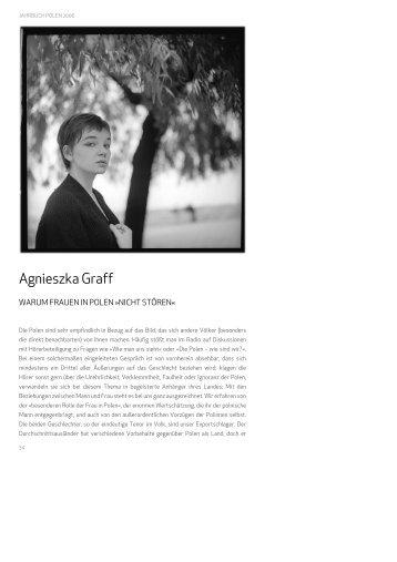 Agnieszka Graff - Deutsches Polen Institut