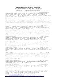 Neuerwerbsliste LW Stand: 07 - Deutsches Polen Institut