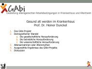 Alter - Gesellschaft Deutscher Krankenhaustag mbH