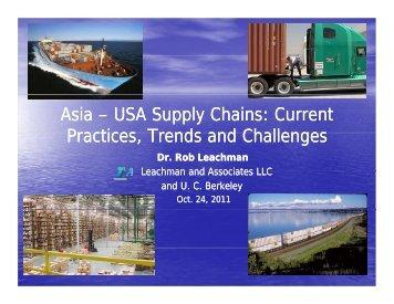 USA Supply USA Supply Chains