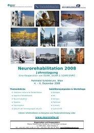 Neurorehabilitation 2008 Jahrestagung