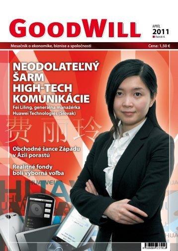 neodolateľný šarm high-tech komunikácie - GoodWill - Eu.sk