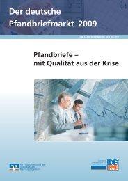 Der deutsche Pfandbriefmarkt 2009 - DG Hyp