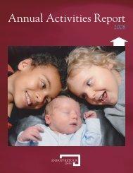 Annual Activities Report — 2008 - Enfant-Retour Québec