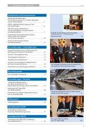 Arbeitskreise und Fachausschüsse Veranstaltungen ... - DGZfP