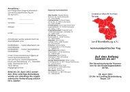 zur Einladung - Die Linke. Brandenburg