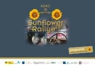 Programmheft 2011 - ADAC | Sunflower Rallye
