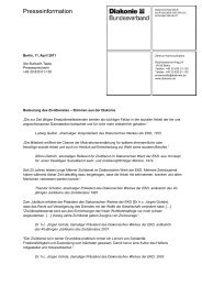 Bedeutung des Zivildienstes - Stimmen aus der Diakonie (PDF