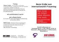 wir wehren uns - Die Linke. Brandenburg