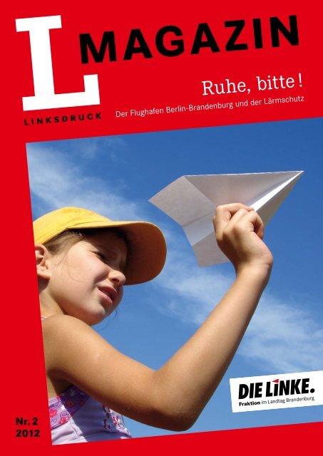 L-Magazin Nr. 02/2012 - Die Linke. - Brandenburg.de