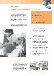 Jahresbericht Senioren, Pflege und Hilfe - Diakonie Erlangen